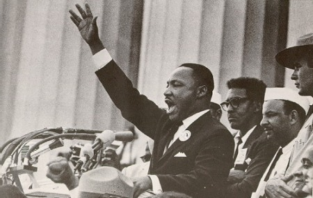 "Rev. Martin Luther King Jr. Delivers His Most Famous Speech ""I Have A Dream"" August 28, 1963"