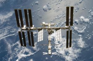 NASA photo of International Space Station