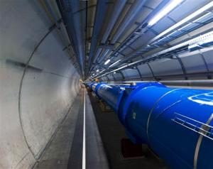 View of the tunnel LHC sector 1-2.  Photo Credit:  CERN/Maximilien Brice