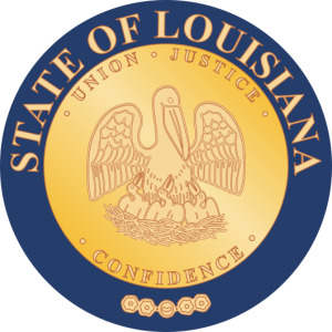 Seal of Louisiana.