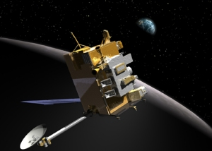 Artist rendering of the LRO spacecraft.  Image credit:  NASA