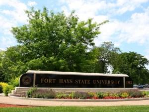 FHSU Entrance Sign