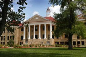 Picken Hall on the FHSU campus.