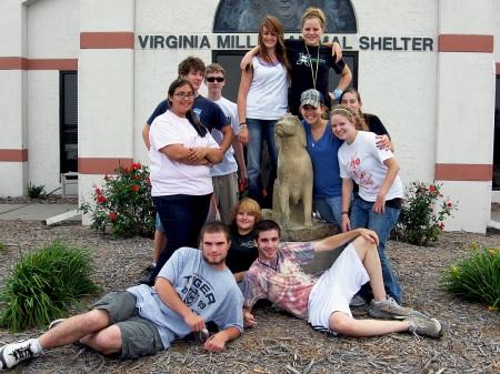 KAMS Gives Back:  Volunteering at the Humane Society