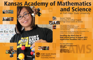 Kansas Academy of Mathematics & Science